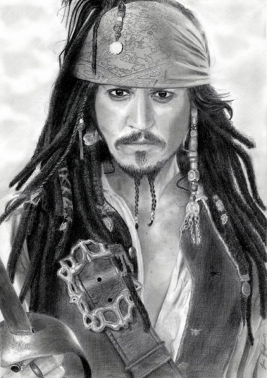 Johnny Depp by foudroyant